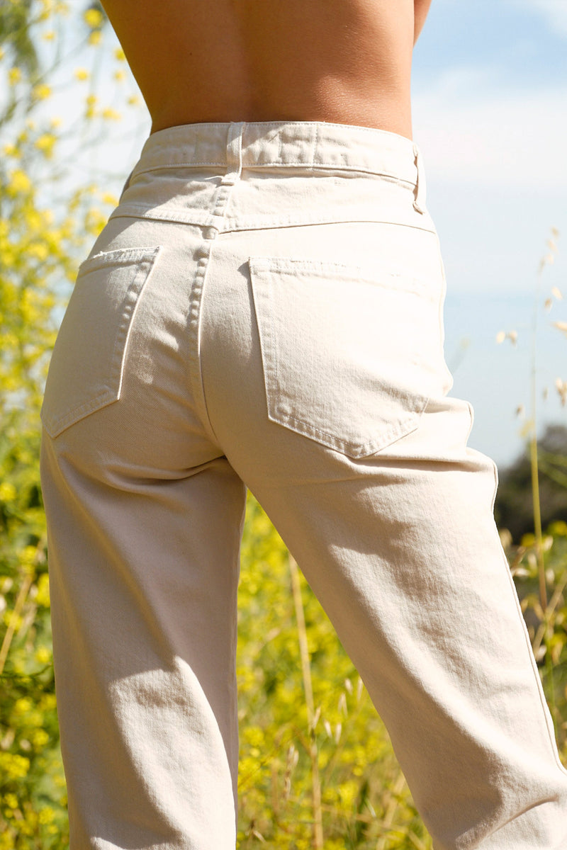 AMO Bella - released hem in vintage white