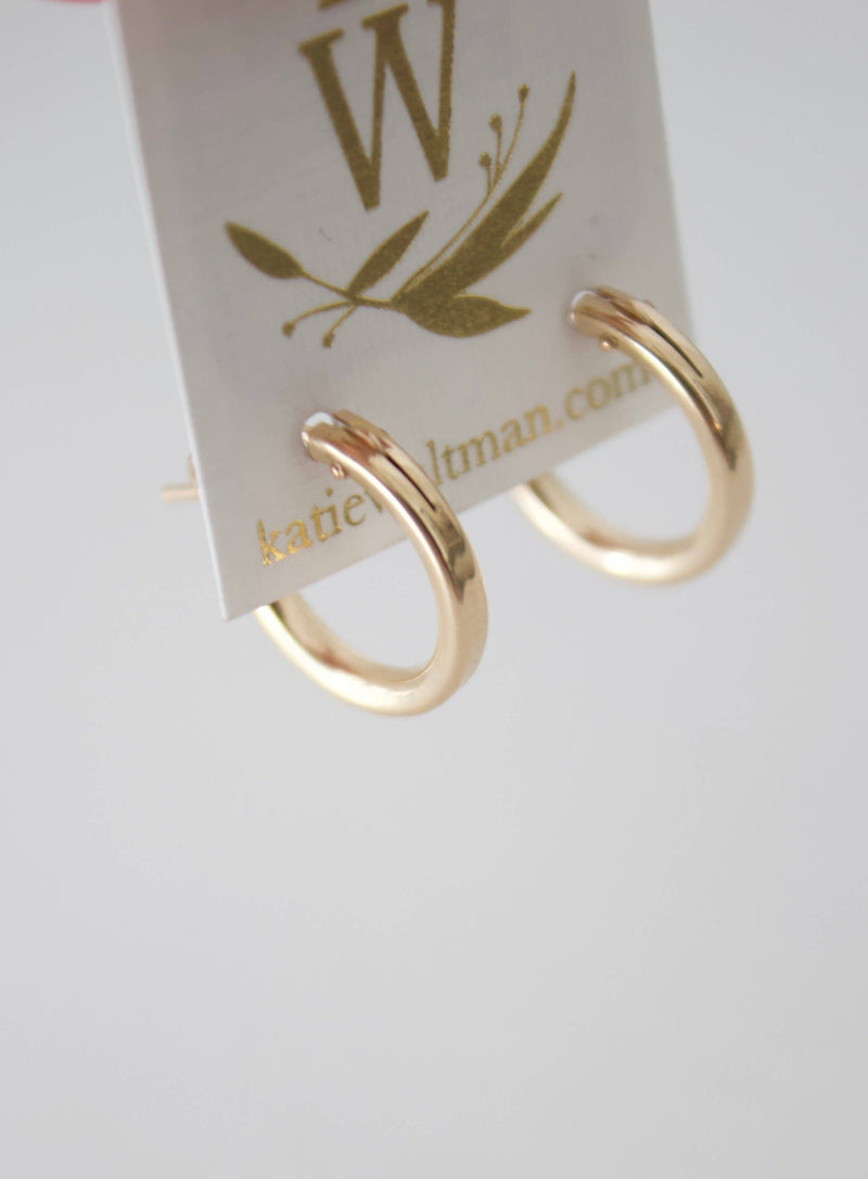 Small Gold Filled Hoops
