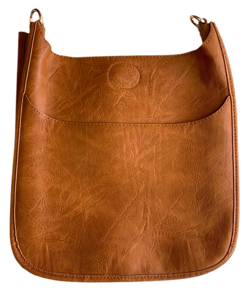 VEGAN Leather Classic Messenger-NO STRAP ATTACHED!!!!
