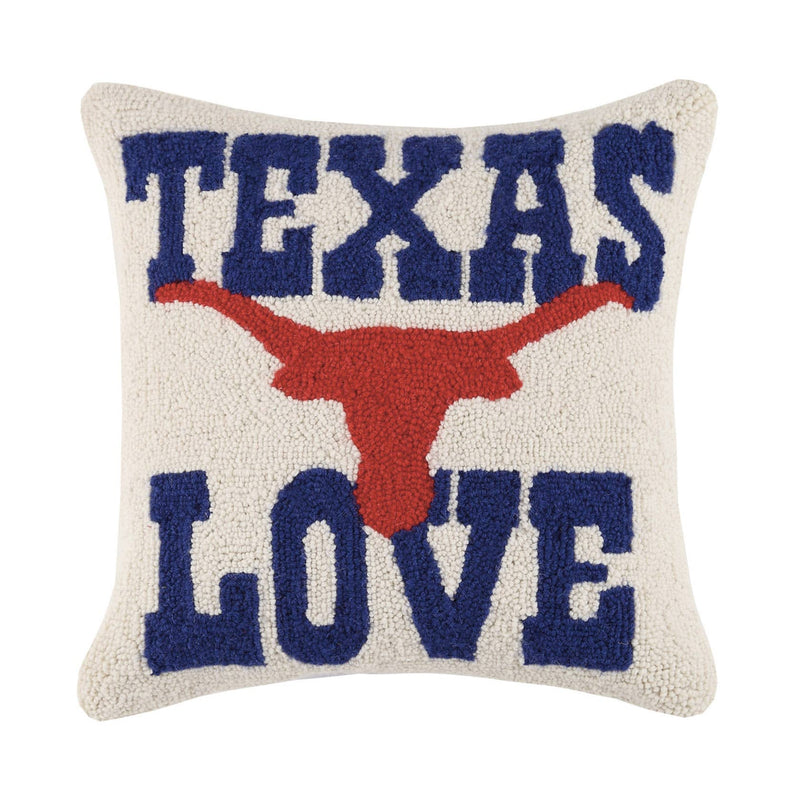 Texas Love Hook Pillow