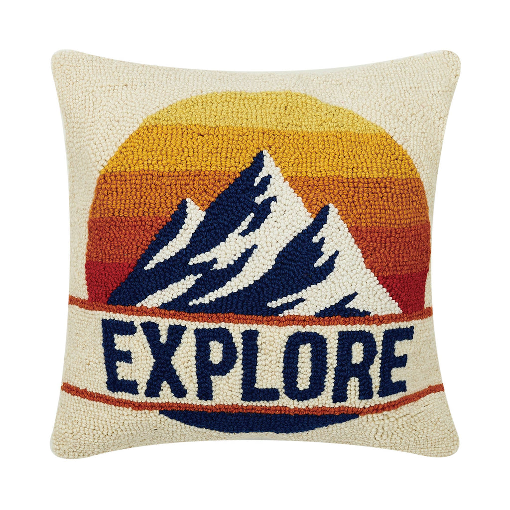 Explore Hook Pillow