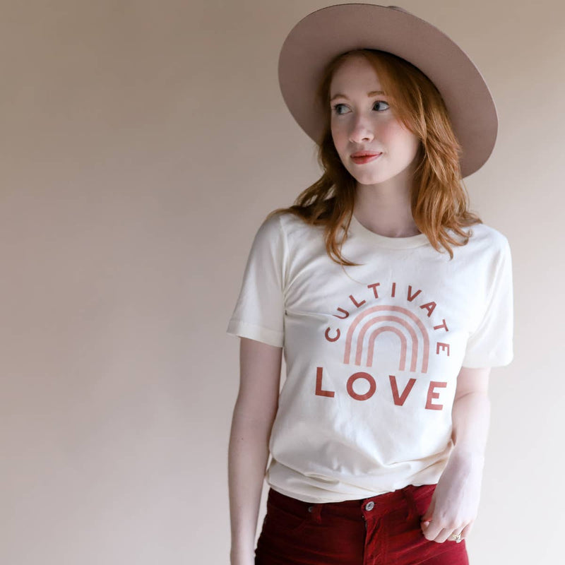 Cultivate Love Adult T Shirt