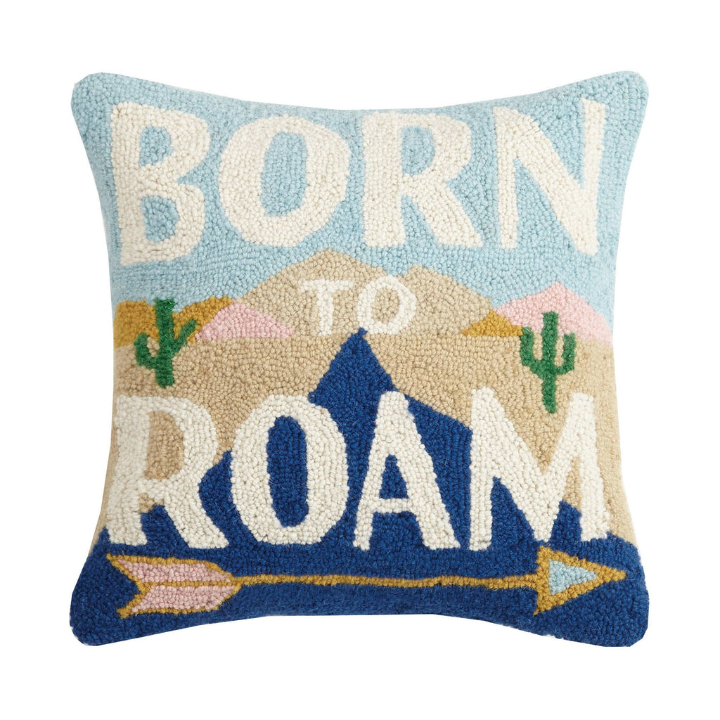 Born To Roam Hook Pillow