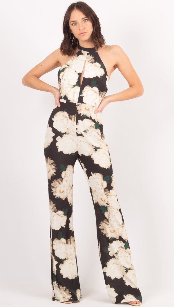 Eliana Jumper White Floral