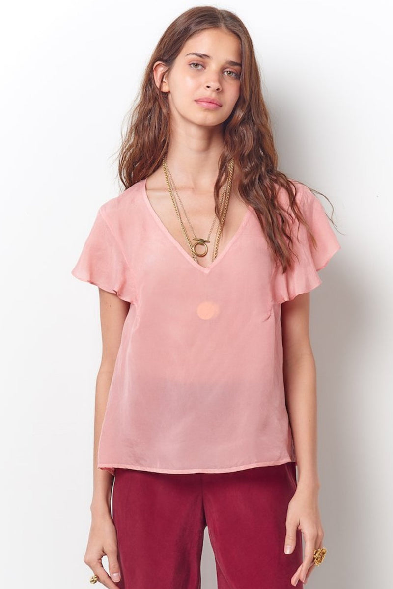 The Isabella V Neck Blouse