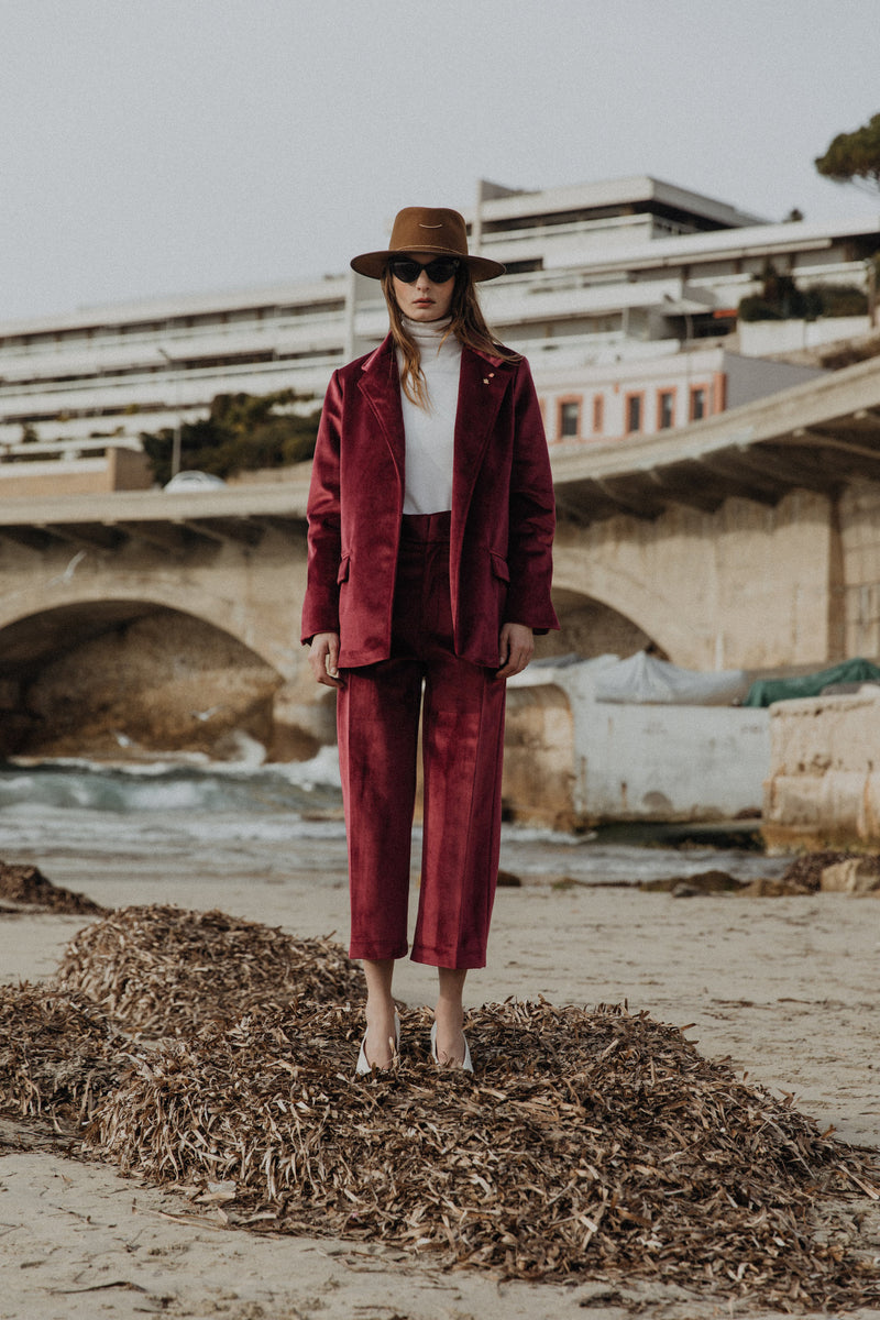 La Stella - Burgundy Jacket