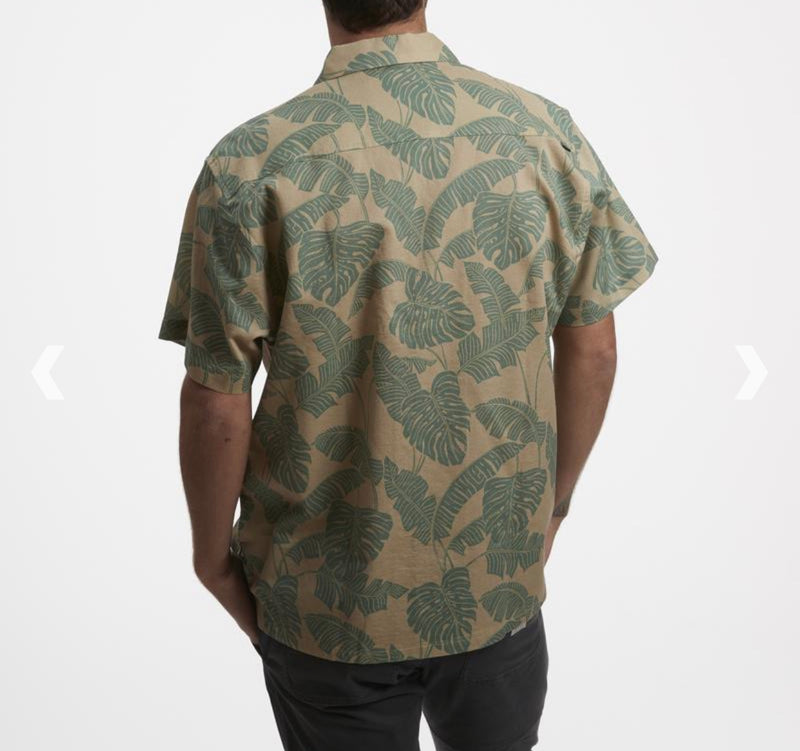 Monoloha Shirt Monstera Print