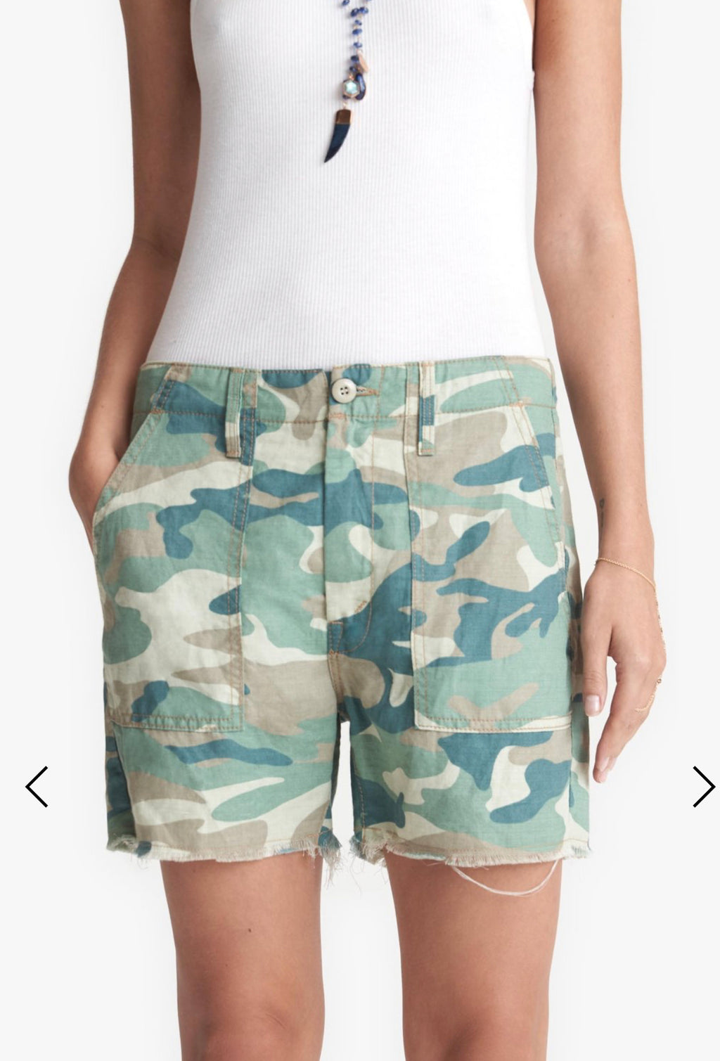 The Shaker Crop Short