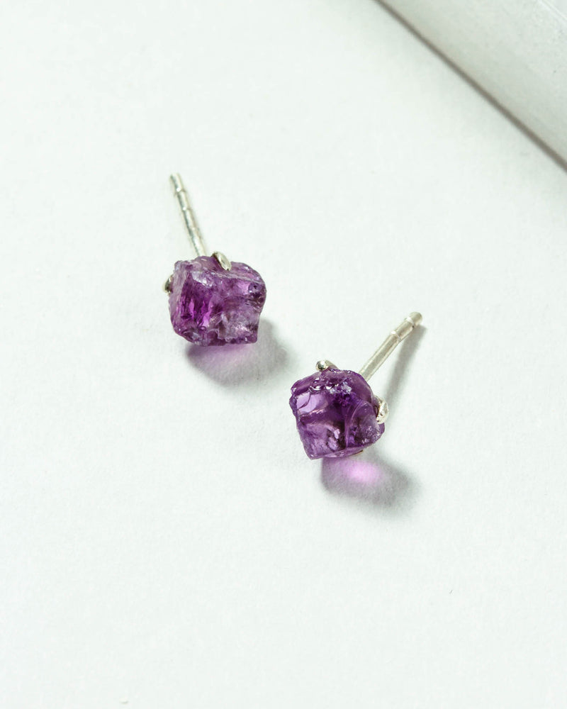 Raw Beauty Post Earring Birthstones