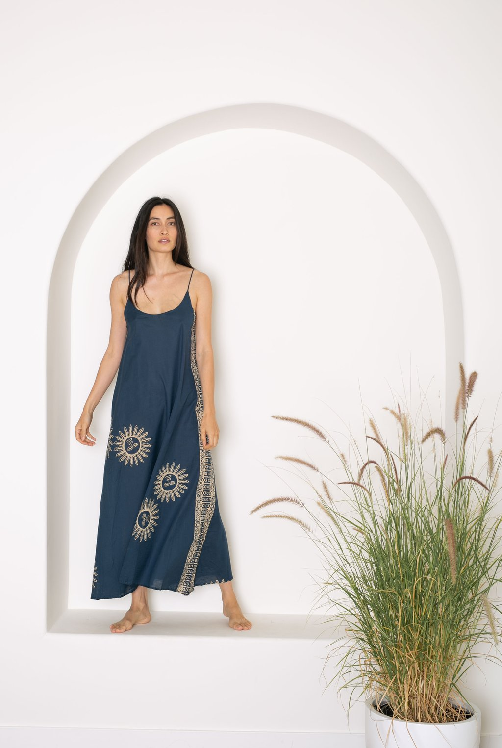 Heather Maxi - Indigo Sun
