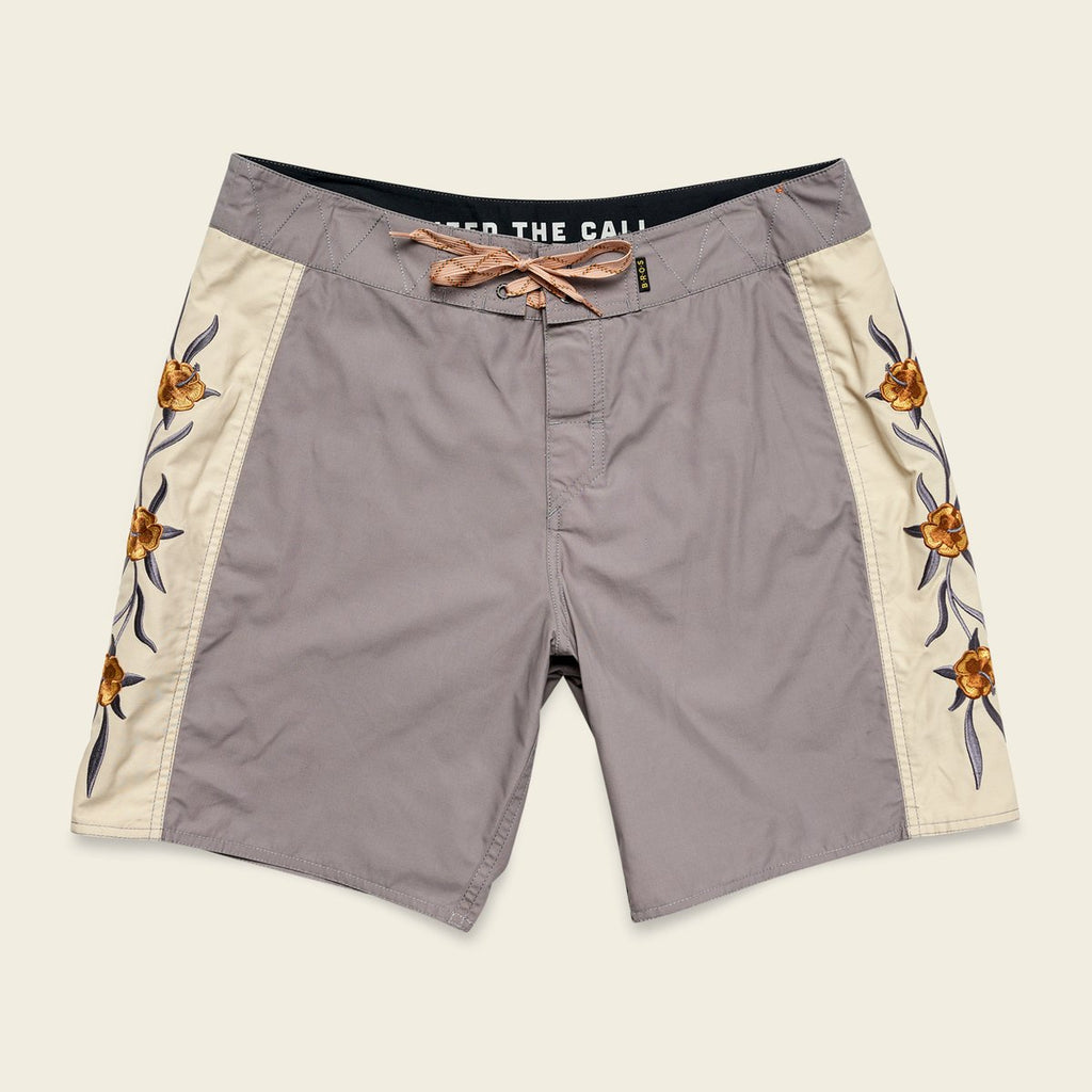 Crosscut Deluxe Boardshorts - Anvil Grey