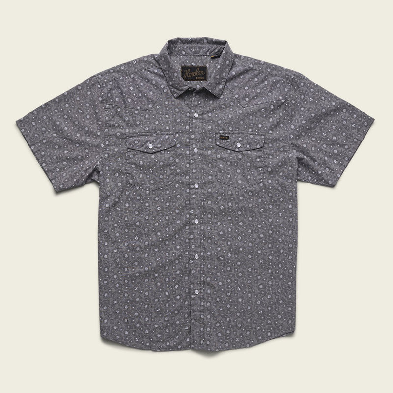 H Bar B Snapshirt - Little Agave Night Blue Oxford