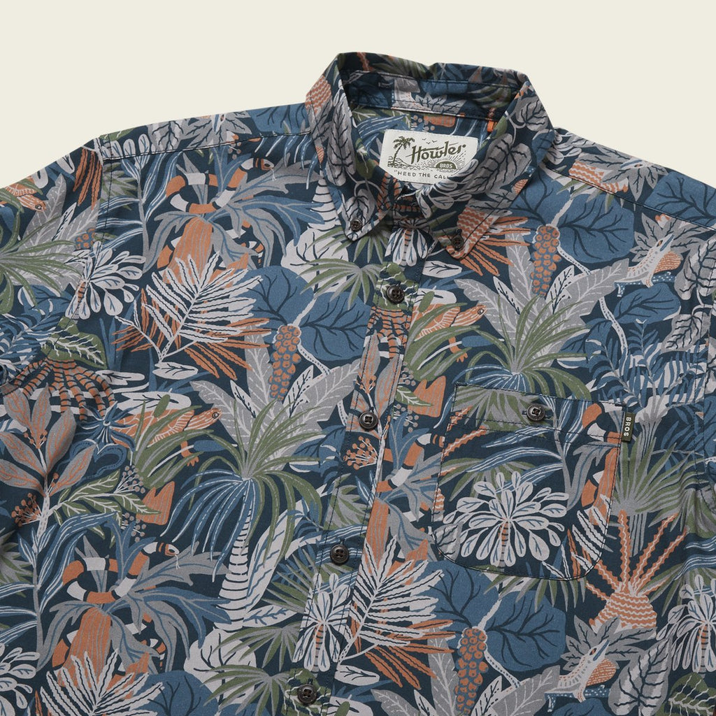 Mansfield Shirt - Glades Midnight Blue