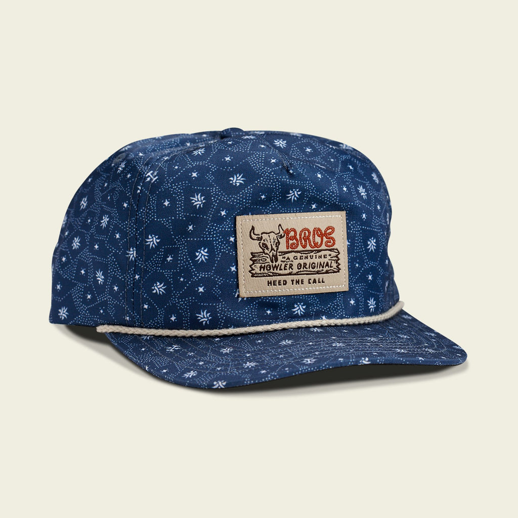 Unstructured Snapback Hats - Little Agave Navy