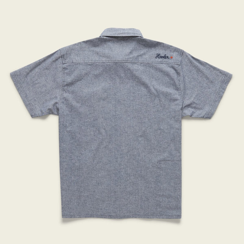 Voyager Shirt - Midnight Blue Chambray