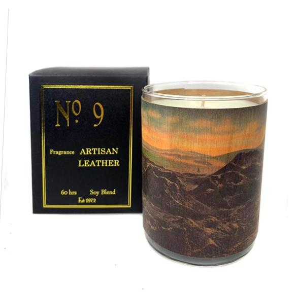 No. 9 - Artisan Leather Candle