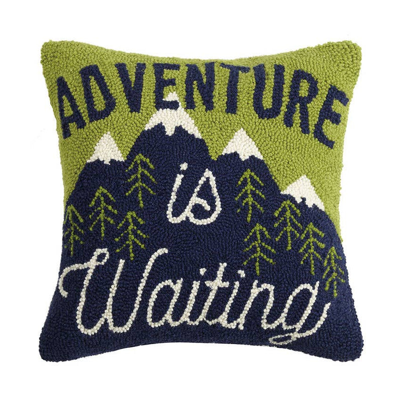 Adventure Is Waiting Hook Pillow