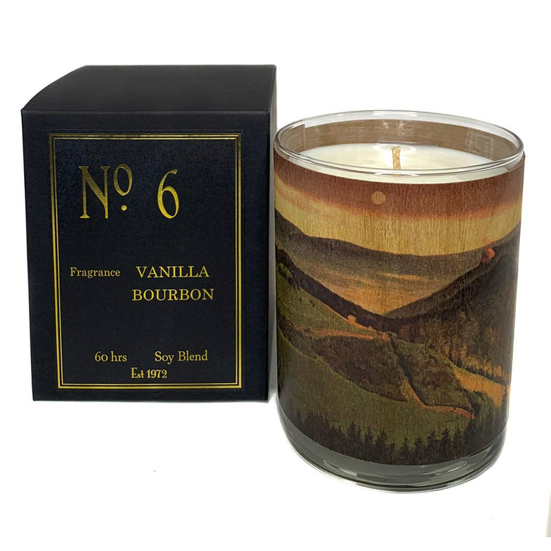 No 6 Vanilla Bourbon Candle