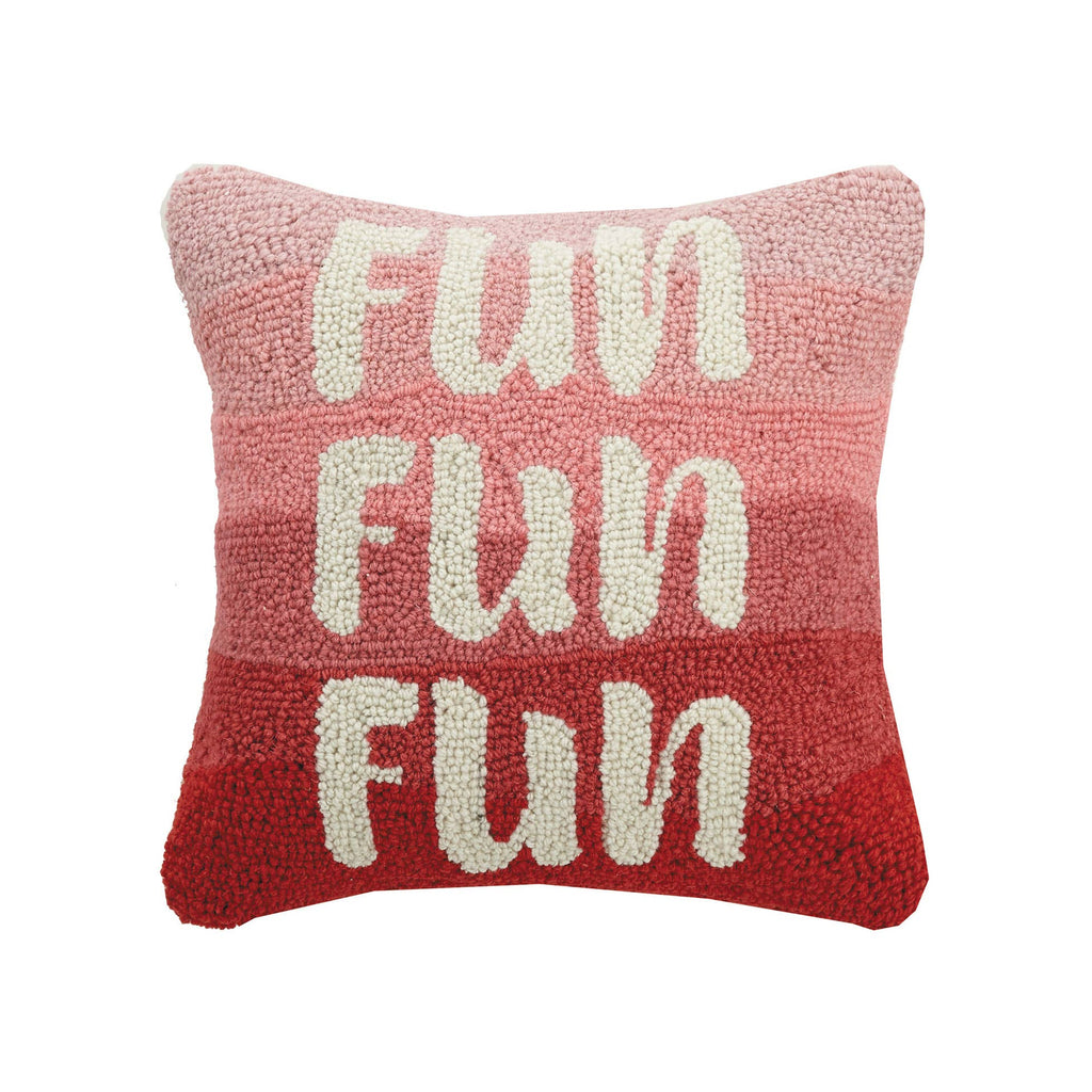 Fun Fun Fun Hook Pillow