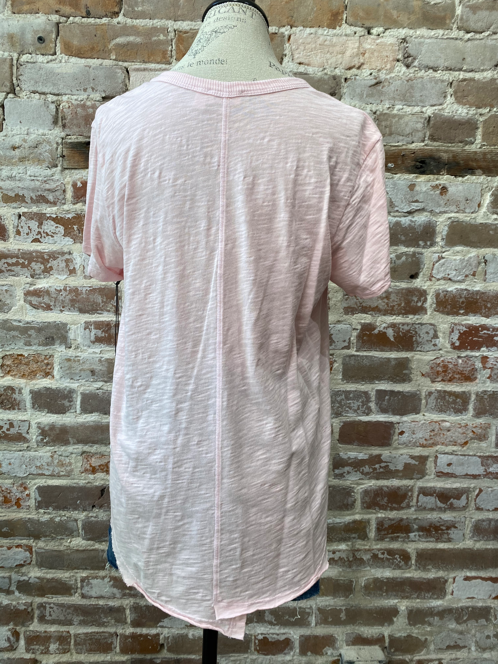 Wilt Raw Shrunken Shirttail Tee