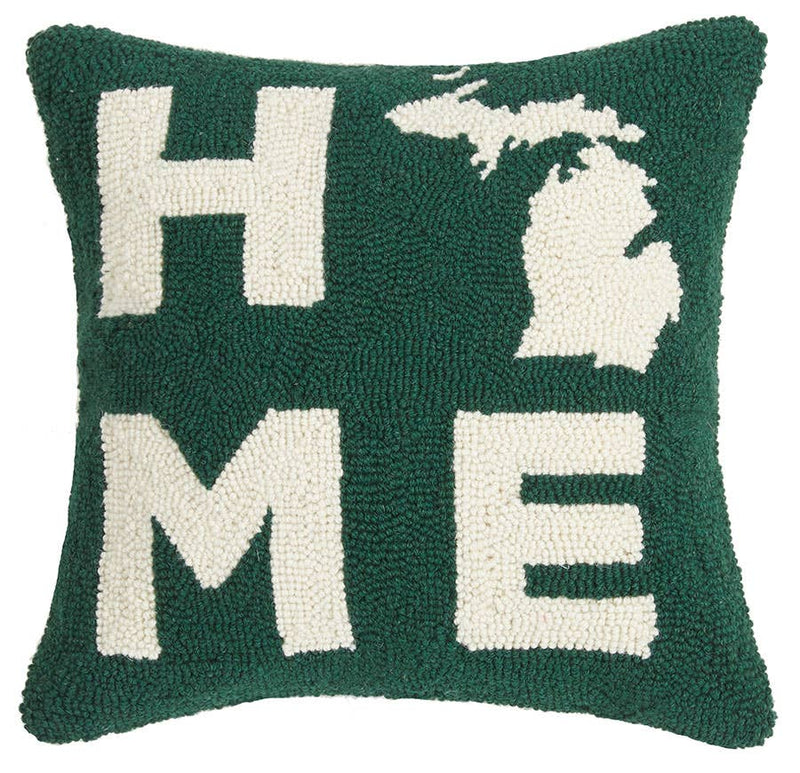 Michigan Home Hook Pillow