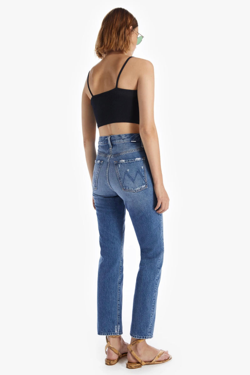 The High Waisted Hiker Hover by Mother Denim