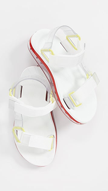 Papete and Rider Strappy Walking Sandal