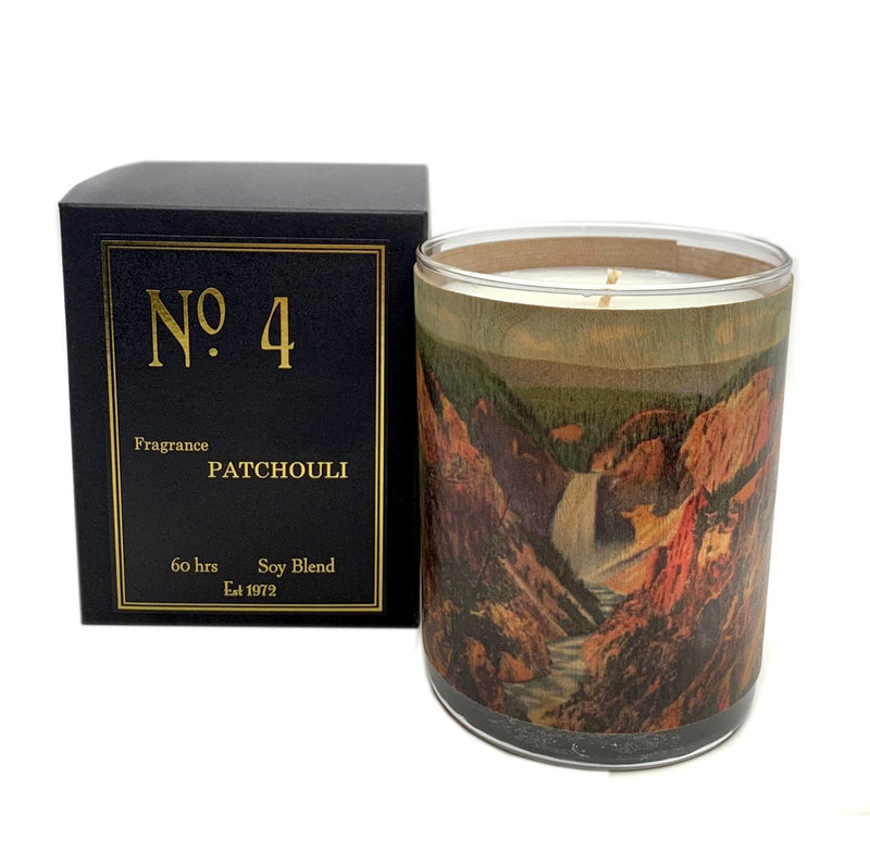No. 4 - Patchouli Candle
