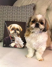 Load image into Gallery viewer, Pet Portraits on Canvas - Royal Pet Pawtrait