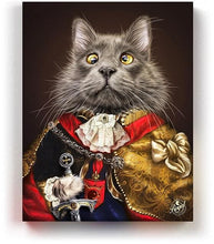 Load image into Gallery viewer, Pet Portraits on Canvas - THE PRINCE - ROYAL PET PORTRAITS - Royal Pet Pawtrait