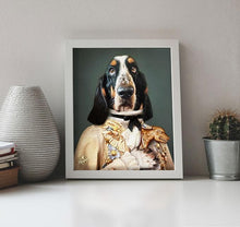 Load image into Gallery viewer, Dog Portrait on Canvas - Royal Pet Pawtrait