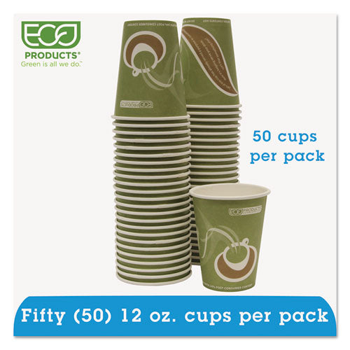 Evolution World 24% Recycled Content Hot Cups Convenience Pack - 12oz., 50-pk