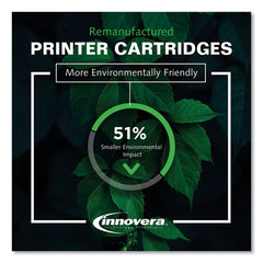 Remanufactured Black Toner Cartridge, Replacement For Hp 410a (cf410a), 2,300 Page-yield