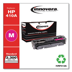 Remanufactured Magenta Toner Cartridge, Replacement For Hp 410a (cf413a), 2,300 Page-yield