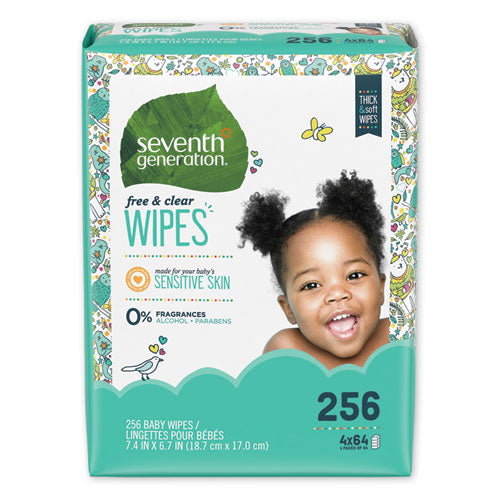 Baby Wipes Refill - 256 Count