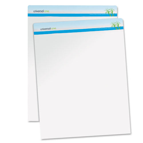 Renewable Resource Sugarcane Based Easel Pads, 27 X 34, White, 50 Sheets, 2-carton