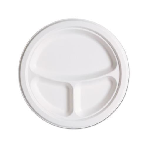 Renewable & Compostbl Sugarcane Plates Club Pack - 10