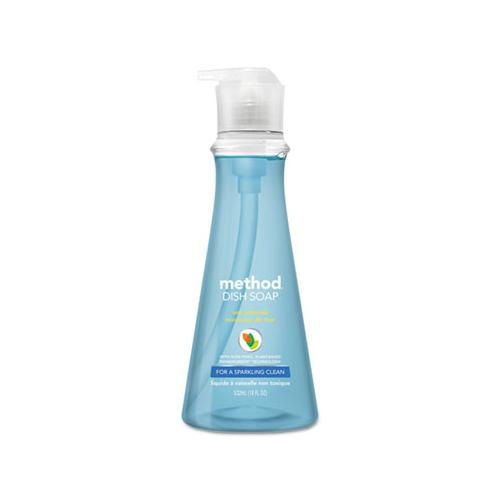 Dish Soap, Sea Minerals, 18 Oz Pump Bottle, 6-carton