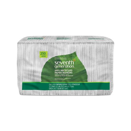 100% Recycled Napkins, 250-pack