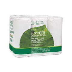 100% Recycled Paper Towel Rolls, 2-ply, 11 X 5.4 Sheets, 140 Sheets-rl, 24 Rl-ct