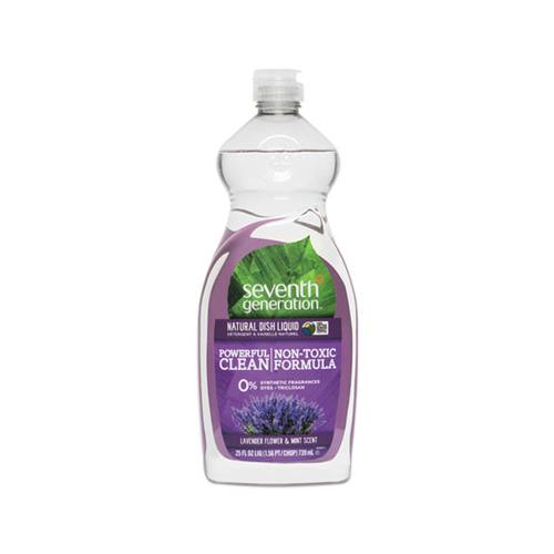 Natural Dishwashing Liquid, Lavender Floral And Mint, 25 Oz Bottle, 12-carton