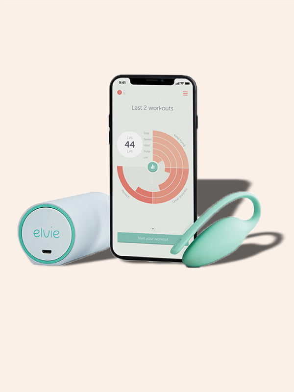 Elvie Kegel Training System MMURE Personal Training and Exercise Tracker for the Pelvic Floor