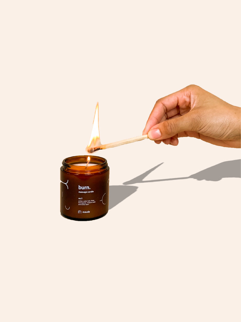 Maude Burn Massage Candle MMURE