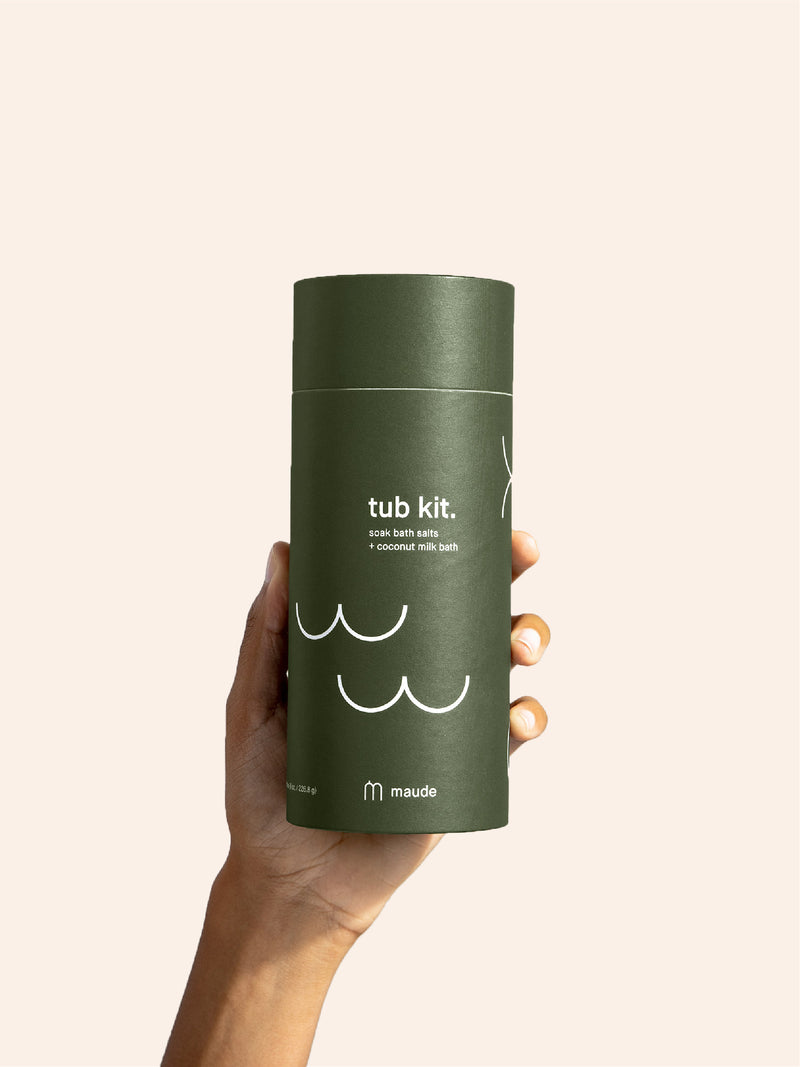 Maude Tub Kit Bath Soak + Bath Salts