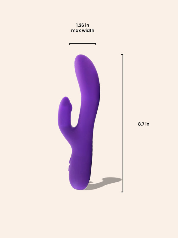 VeDo Rockie Purple Rabbit Vibrator MMURE
