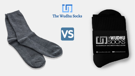 khuffain (khuff) for wudu (wuzu) versus normal socks