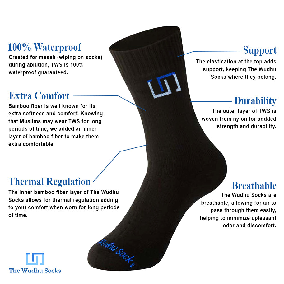 The Wudhu Socks Technology, The Wudu Socks Tech, The Wuzu Socks Technology