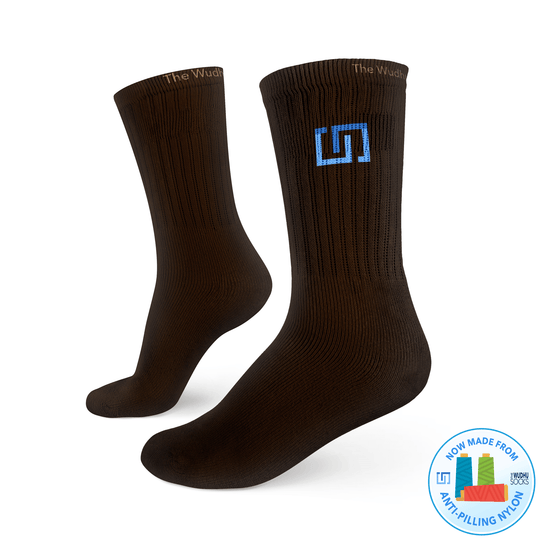 The Wudhu Socks 365 - Classic Brown