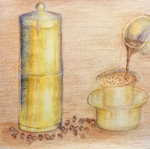 South Indian Filter Coffee and Dabvarah