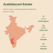 INDIA | Arabidacool | Medium Roast